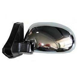 Зеркало боковое хром на шарнире уголок ВАЗ 2101/03/06 (2шт) Condor K1023