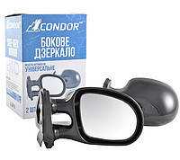 Дзеркало бокове чорне ВАЗ 2101/03/06 (2шт) Condor K1011