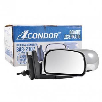 Бічні дзеркала ВАЗ 2104,2105,2107 хромовані Condor K1074