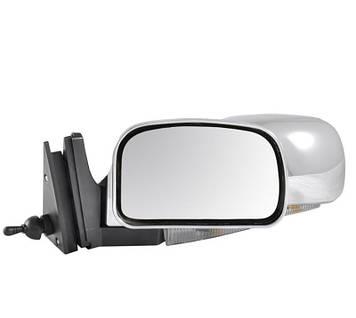 Дзеркало ВАЗ 2107/ ВАЗ 2104/ ВАЗ 2105 хром з поворотом Condor K1072 (кт.)