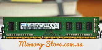 Оперативная память для ПК Samsung DDR3 4Gb 1Rx8 PC3-12800 1600MHz, Intel и AMD, б/у
