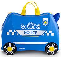 Детский чемоданчик на колесиках Trunki Police Percy (TRU-0323), фото 1