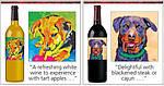 Собаколюбивый дизайн винной этикетки
