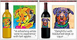 Собаколюбивый дизайн винної етикетки