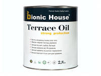 Масло для террас Terrace Oil Bionic-house 2,8л в Серый