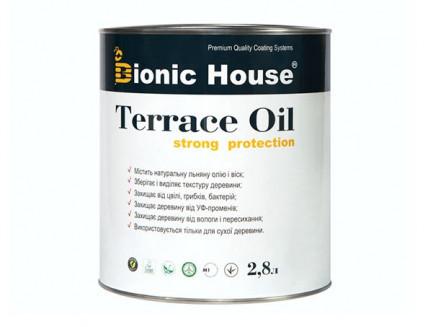 Масло для террас Terrace Oil Bionic-house 2,8л в Черный