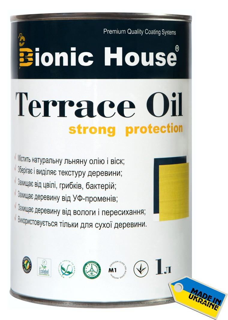 Масло для террас Terrace Oil Bionic-house 1л в Орех