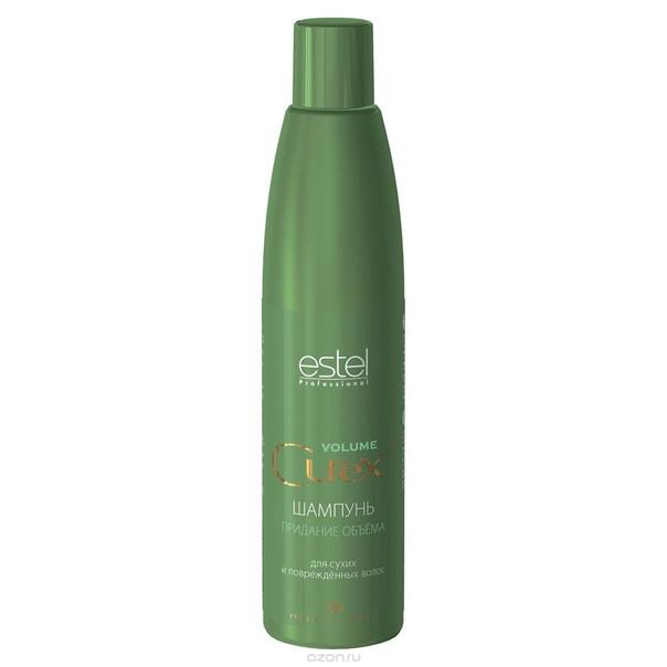 Шампунь Estel Curex для придания объема для сухих и поврежденных волос