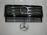 Решетка радиатора Mercedes G-class W463, фото 4