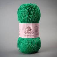 Пряжа Vivchari Cottonel 400 2012 зелене яблуко Vivchari