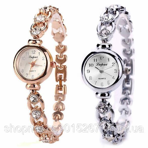 fc1489fe Часы наручные женские позолоченные Lupai со стразами: продажа, цена ...
