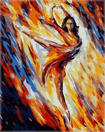 Набор-раскраска по номерам  Страсть и огонь худ Афремов Леонид, фото 2