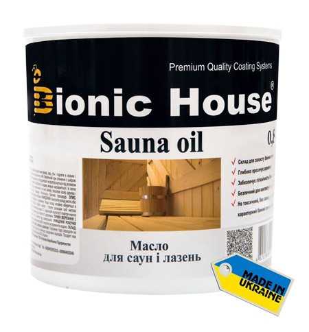 Масло для саун Bionic House Sauna Oil 0,8л