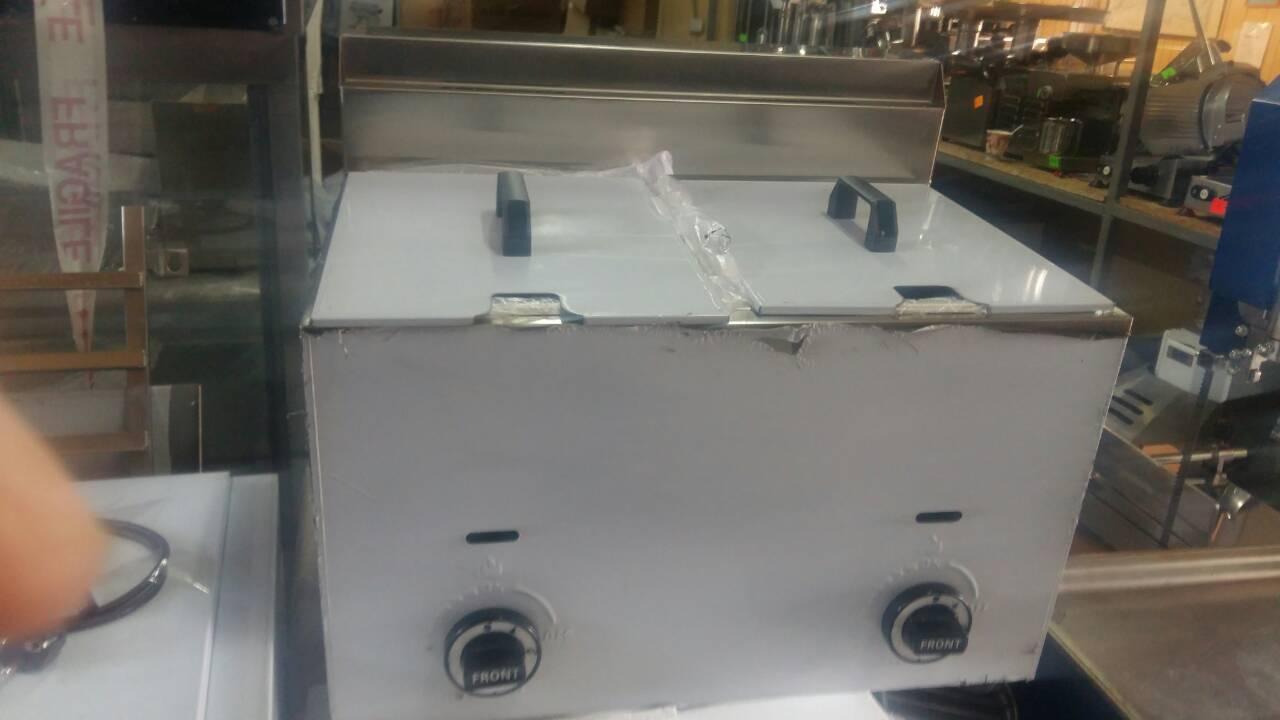 Фритюр Фритюрница двойная Vektor GRT-G20 газовая 10 +10 литров