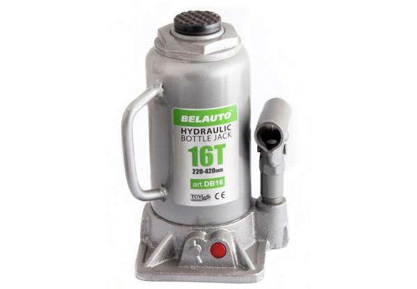 Домкрат бутылочный 16т 220/420мм коробка БЕЛАВТО DB16