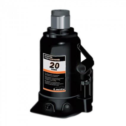 Домкрат бутылочный 20т 190/350мм коробка Lavita LA JNS-20F