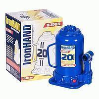 Домкрат бутылочный 20т 217/407мм коробка Vitol IH-317407D
