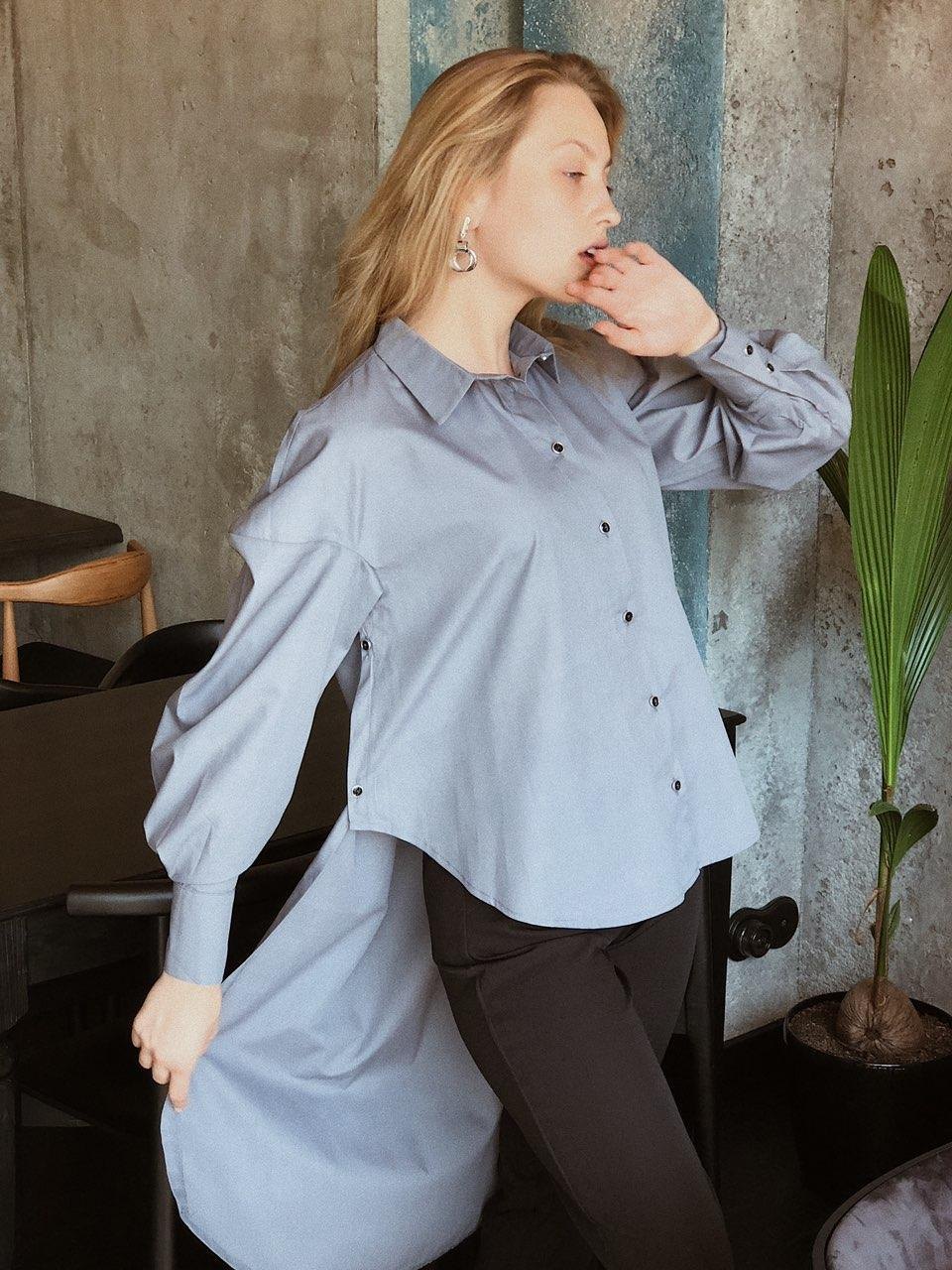 Женская блузка со шлейфом (р. XS-S-M)