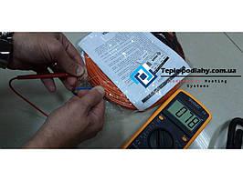 Тонкий кабель для укладання під плитку або стяжку ADSV 182200 (12.2 м.кв) Потужність 2200 Вт + подарунок