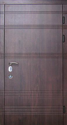 Наружные входные двери Редфорт Паралель на улицу. Замок Мотура (Mottura), фото 2