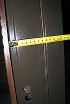 Наружные входные двери Редфорт Паралель на улицу. Замок Мотура (Mottura), фото 3