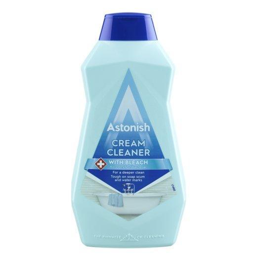 Молочко Astonish Cream Cleaner с отбеливателем 500 мл, Великобритания