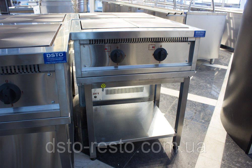 Плита электрическая 2-х конф. на подставке ПЭ700-2-П