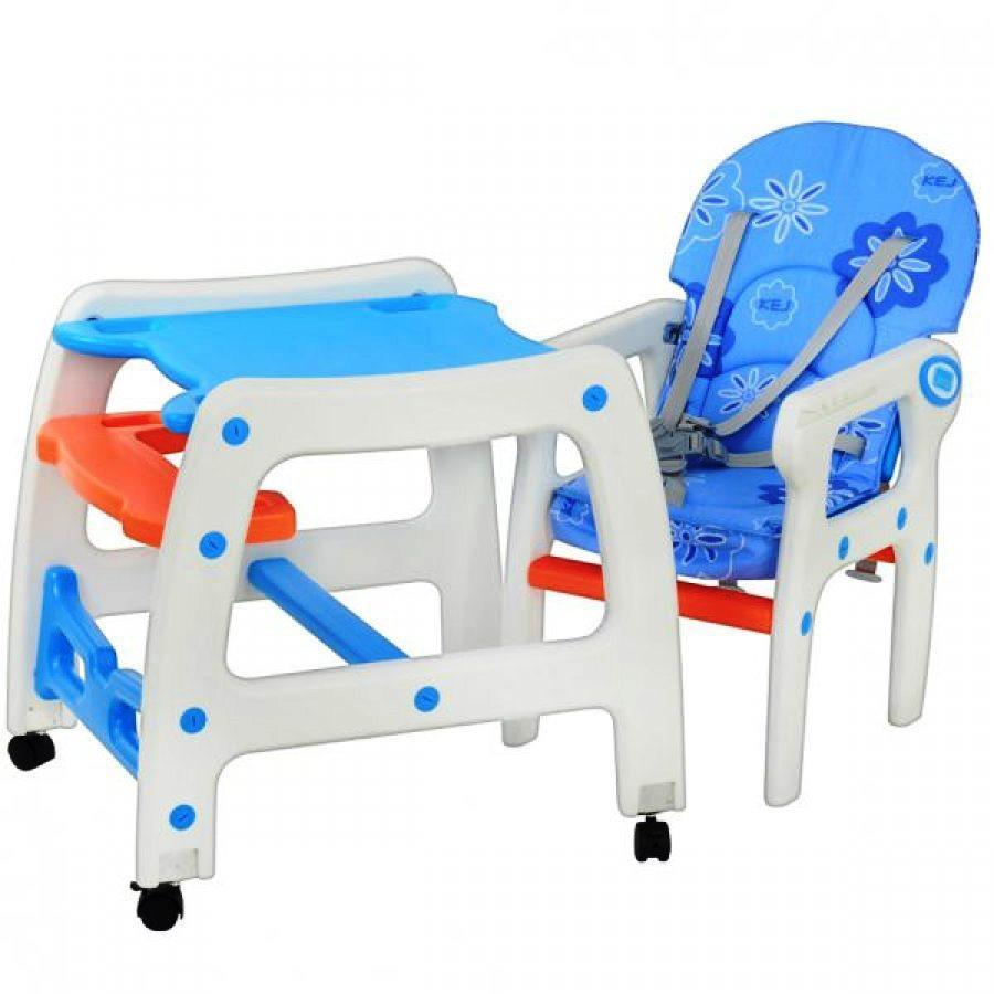 Стульчик для кормления малыша Bambi 1563 1 4 Голубой