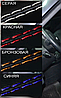 Чехлы на сиденья ВАЗ Лада 2110 (VAZ Lada 2110) (универсальные, экокожа Аригон), фото 8