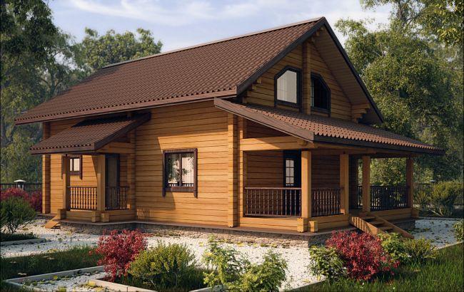 Деревянные дома из профилированного бруса - АРТ-БАСТИОН в Киеве