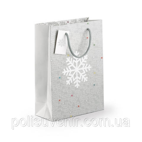 Новорічний пакет з сніжинкою