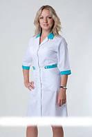 Халат женский медицинский батист