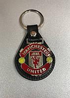 Брелок кожаный FC Manchester United