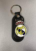 Брелок кожаный FC Real Madrid