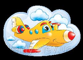 """Вырубка средняя """"Самолетик"""""""
