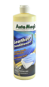 Кондиционер для кожи в салоне автомобиля Auto Magic Leather Conditioner QT 58