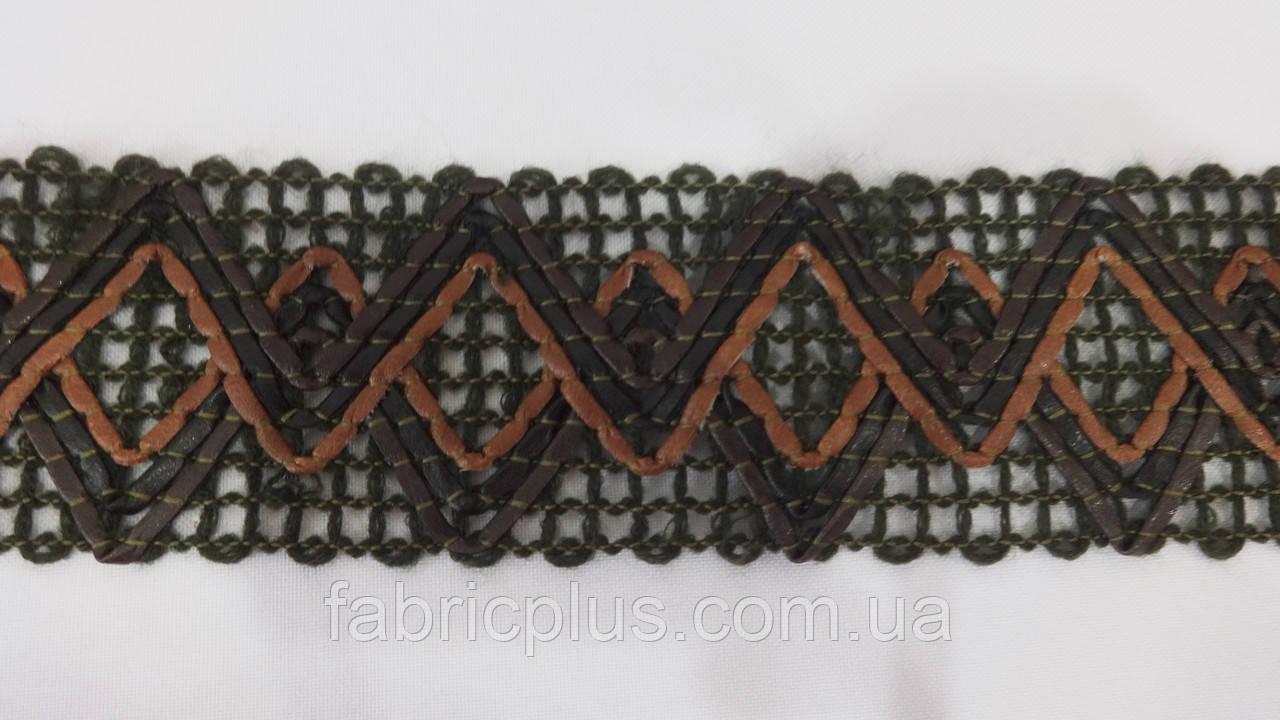 Тесьма отделочная плетенная