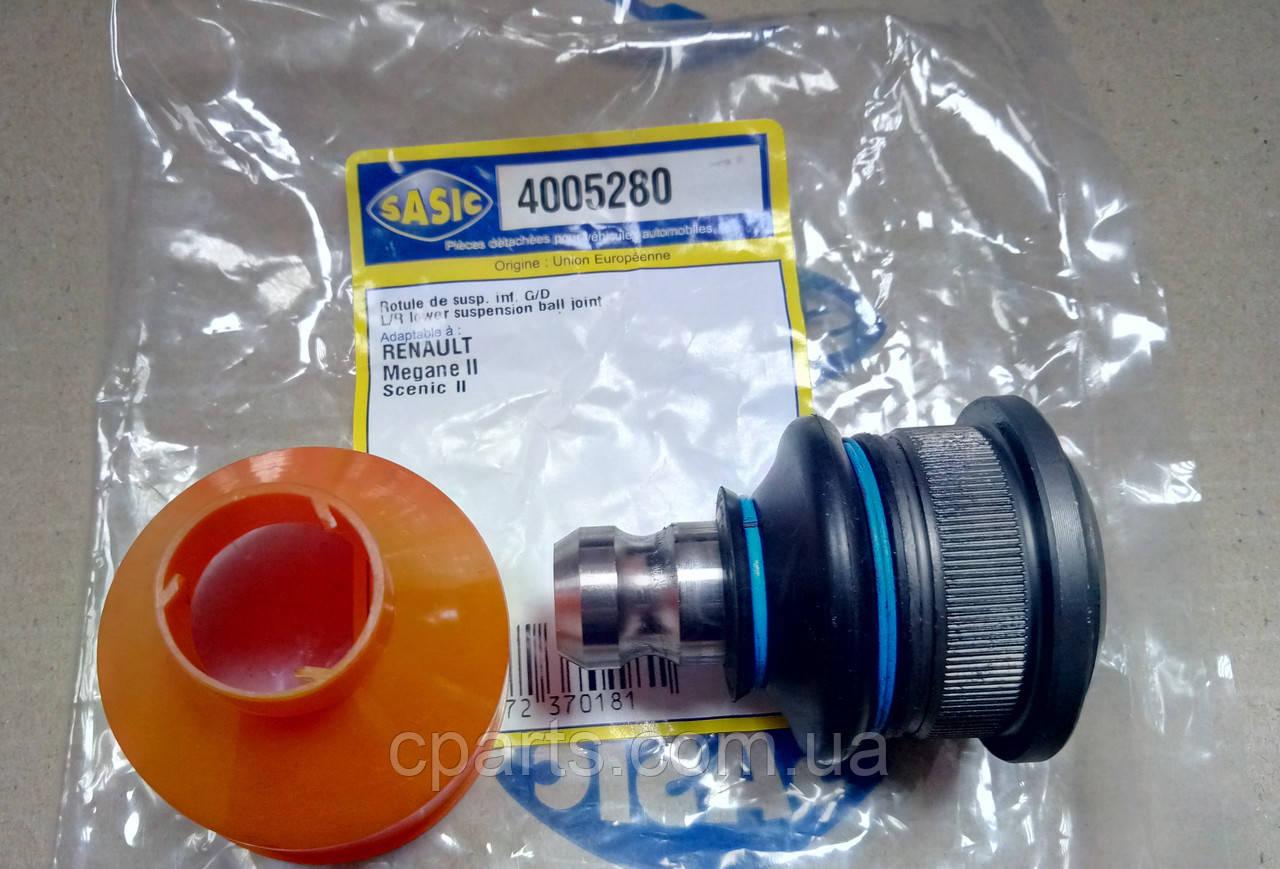 Шаровая опора Dacia Sandero (Sasic 4005280)(высокое качество)