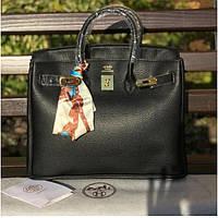Женская классическая сумка YSL (Гермес), черный