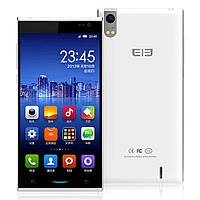 """Смартфон Elephone P10 White 5"""" (1280x720) HD IPS Capacitive-touch/MTK6582 QuadCore(1.3Ghz)/RAM 1024Mb/iNAND Fl"""