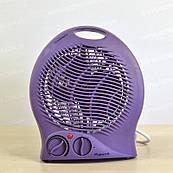 Тепловентилятор ViLgrand VF203 электрический спиральный для дома 2000 Вт 3 режима