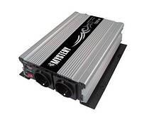 Автомобильный преобразователь напряжения Mistery MAC-1000 инвертор 12v в 220v 2000 Вт