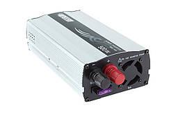 Автомобильный преобразователь напряжения Mistery MAC-500 инвертор 12v в 220v 1000 Вт