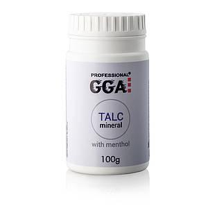 Тальк GGA Professional с ментолом, 100 г