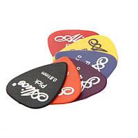 Медиаторы для гитары ALICE PICK 0.58/0.71/0.81/0.96/1.20/1.50 мм