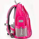Рюкзак полукаркасный школьный Kite Education Smart для девочек Розовый (K19-702M-1), фото 7