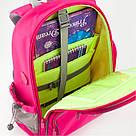 Рюкзак полукаркасный школьный Kite Education Smart для девочек Розовый (K19-702M-1), фото 5
