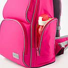 Рюкзак полукаркасный школьный Kite Education Smart для девочек Розовый (K19-702M-1), фото 8