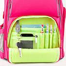 Рюкзак полукаркасный школьный Kite Education Smart для девочек Розовый (K19-702M-1), фото 6