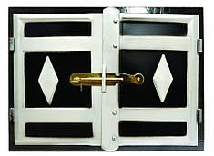 Дверка печная 465x355 мм черн. мет. Master Tools 92-0360